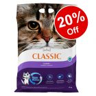 14kg Intersand Classic Cat Litter - 20% Off!*
